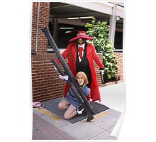 Hellsing cosplayers Poster