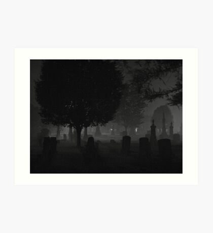 cemetery 06 Art Print