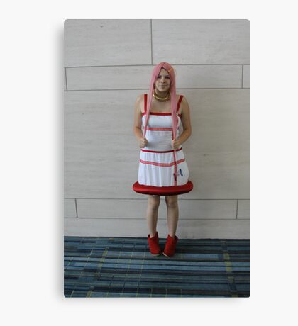 Cosplaying Canvas Print