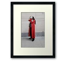 Don't Mess with Alucard Framed Print