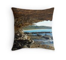 North Beach Bawley Point New South Wales Australia Throw Pillow