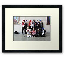Group Photo Framed Print
