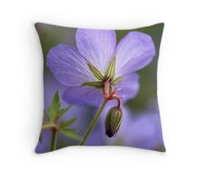 Beauty and the Bud Throw Pillow
