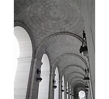 union station washington DC Photographic Print