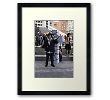 Trigun's Nicholas D. Wolfwood Framed Print