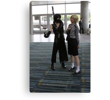 Two Cosplayers Canvas Print