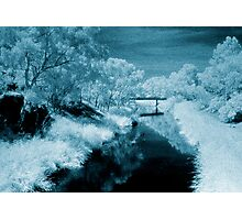 blue day.... bridge over the river styx Photographic Print