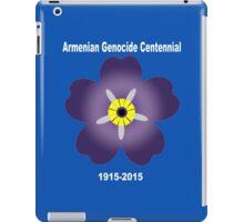 Armenian genocide centennial Funny Geek Nerd iPad Case/Skin