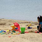 Beach Play by AuntieJ