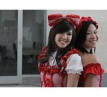 Two Kawaii Ladies Photographic Print