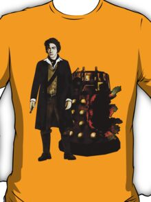 Doctor Who - The War Doctor and Exploded Dalek T-Shirt