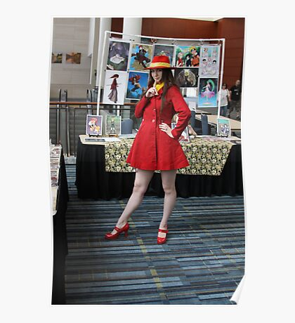 I found Carmen Sandiego Poster