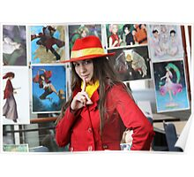 I found Carmen Sandiego Close-up Poster