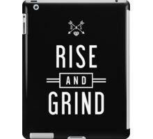 RISE & GRIND iPad Case/Skin