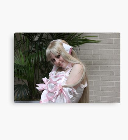 Chi from Chobits  Close-up Canvas Print