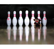 RnR Bowling w Zac ... strike or spare? Photographic Print