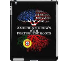American Grown With Portuguese Roots iPad Case/Skin