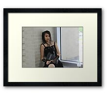 Misa from Death Note Close-up Framed Print