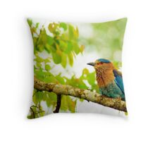 Spring would not be spring without bird songs. Throw Pillow