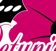 Go Petunias Funny Geek Nerd Sticker