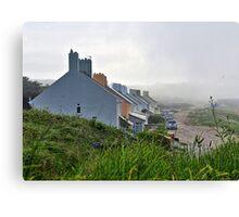 Heavy Fog Rolls in - Alderney Canvas Print