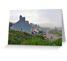 Heavy Fog Rolls in - Alderney Greeting Card