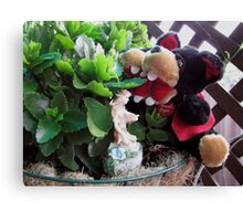 RnR gardening and meeting the Fairy Canvas Print