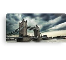 In London Town Canvas Print