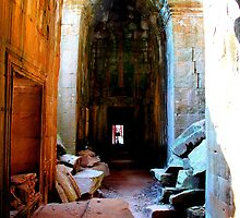 Khmer Temple Ruins by bvl1981