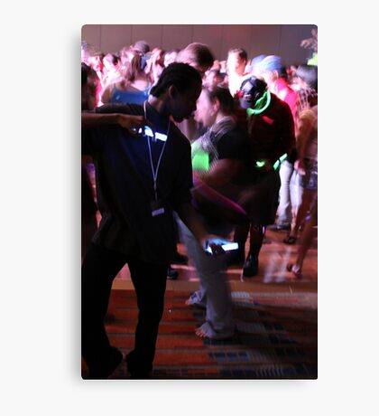Crave the Rave  Motion Sickness Canvas Print