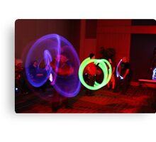 Crave the Rave  Lightened Path Canvas Print