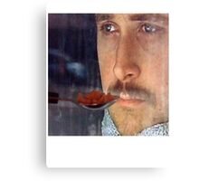 Ryan Gosling Won't Eat His Cereal Canvas Print