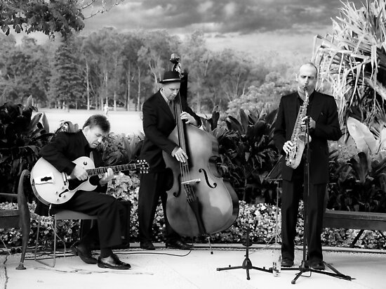 Centennial Park jazz by Alex Howen