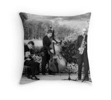 Centennial Park jazz Throw Pillow