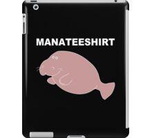 Manateeshirt Funny Geek Nerd iPad Case/Skin