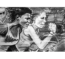 Run Photographic Print