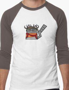 Hyper Fan Girl Cat Men's Baseball ¾ T-Shirt