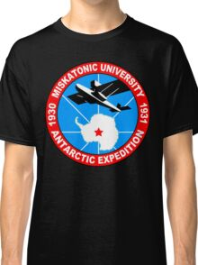 Miskatonic university antarctic expedition Funny Geek Nerd Classic T-Shirt