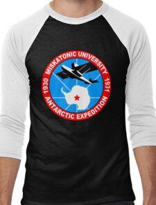 Miskatonic university antarctic expedition Funny Geek Nerd Men's Baseball ¾ T-Shirt