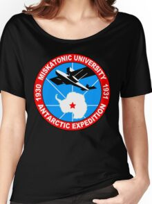 Miskatonic university antarctic expedition Funny Geek Nerd Women's Relaxed Fit T-Shirt