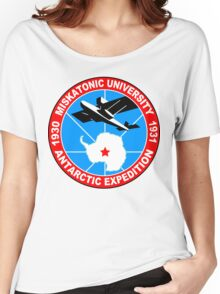 Miskatonic university antarctic expedition Funny Geek Nerd Women's Relaxed Fit T-Shirt
