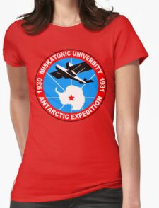Miskatonic university antarctic expedition Funny Geek Nerd Womens Fitted T-Shirt
