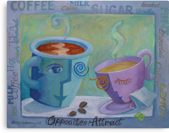 Opposites Attract by nancy salamouny