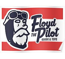 Floyd The Pilot Poster