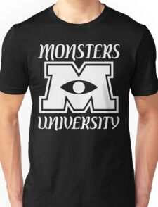 Monsters university Funny Geek Nerd Unisex T-Shirt