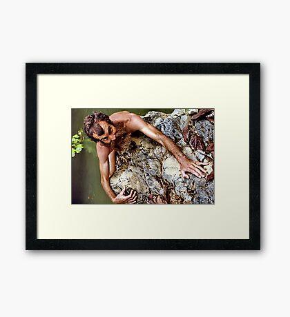 Feral Framed Print