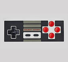 Nes Game Controller by Thorinn