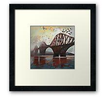 Forth Mist Framed Print