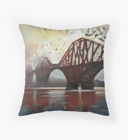 Forth Mist Throw Pillow