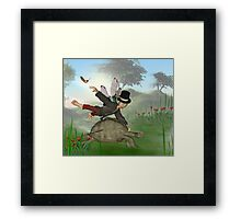 Bumbles ride,2. Framed Print